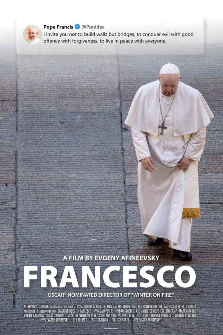 Documental Francesco: El papa Francisco respaldó la unión civil entre personas del mismo sexo 1