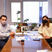 Fernanda Raverta se reunió con el secretario de Energia Darío Martínez 3