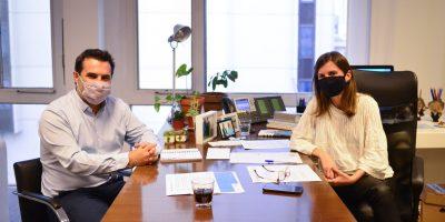 Fernanda Raverta se reunió con el secretario de Energia Darío Martínez 5