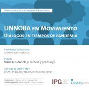 """""""UNNOBA en movimiento"""": hoy María O'Donnell 3"""