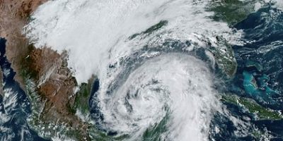 El Huracán Zeta tocó tierra en Estados Unidos 6