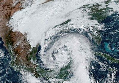 El Huracán Zeta tocó tierra en Estados Unidos 4