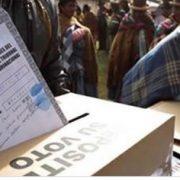Elecciones en Bolivia 4
