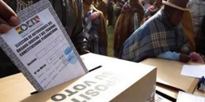 Elecciones en Bolivia 12