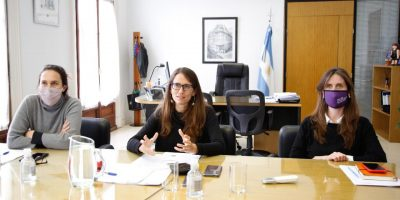 """Gómez Alcorta: """"Vamos a construir el primer Centro de Gestión  Flexible a través de un trabajo integrado entre Municipio, Provincia y Nación"""" 6"""