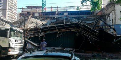 Derrumbe en una obra en el Barrio Porteño de Belgrano 9