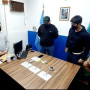 Allanamiento antidrogas en Chacabuco 13