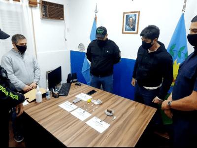 Allanamiento antidrogas en Chacabuco 1