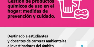 """Charla sobre """"Gestión de Productos químicos de uso en el hogar: medidas de prevención y cuidado"""" 6"""