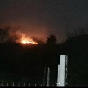TUCUMÁN: Los cerros volvieron a prenderse: se registró fuego en San Javier y en El Cadillal 15
