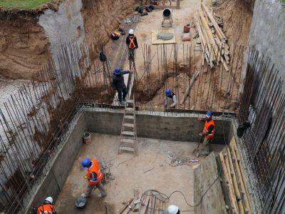 Avanza la construcción de la cisterna en Barrio Desiderio De La Fuente 6