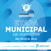 Juegos Bonaerenses: Se está realizando la Etapa Local 1