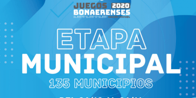 Juegos Bonaerenses: Se está realizando la Etapa Local 6