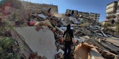 Al menos 14 muertos tras sismo que sacude Mar Egeo y se siente en Grecia y Turquía 5