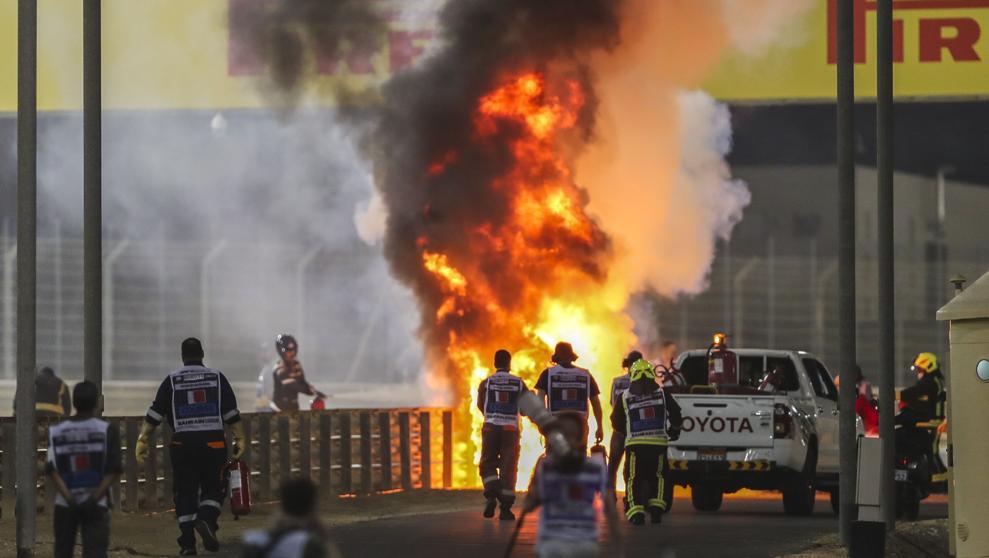 Impactante accidente en la F1 3