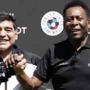 """Pelé tras la muerte de Maradona: """"Ciertamente, algún día patearemos una pelota juntos en el cielo"""" 12"""