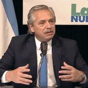 """Alberto Fernandez en el Congreso de La Bancaria: """"·Esta vez los acreedores son los que están pagando el ajuste; no la gente"""" 15"""