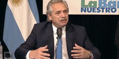 """Alberto Fernandez en el Congreso de La Bancaria: """"·Esta vez los acreedores son los que están pagando el ajuste; no la gente"""" 6"""