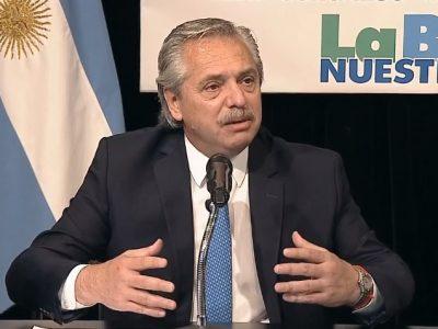 """Alberto Fernandez en el Congreso de La Bancaria: """"·Esta vez los acreedores son los que están pagando el ajuste; no la gente"""" 9"""