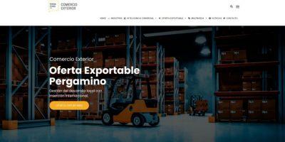 Comercio Exterior lanzó su página web oficial 9