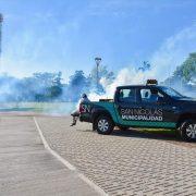 En San Nicolás fumigan espacios públicos para combatir el dengue 12