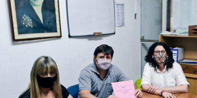 Concejales del Frente de Todos presentaron un proyecto para nombrar una calle como Diego Armando Maradona 10