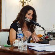 La presidenta del HCD habló en la previa a la apertura de Sesiones Ordinarias del próximo Lunes 3