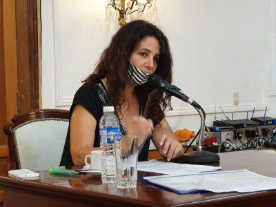 La presidenta del HCD habló en la previa a la apertura de Sesiones Ordinarias del próximo Lunes 1