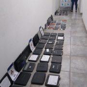 DDI allanó dos locales de venta y reparación de celulares y un domicilio particular en el marco de una investigación por Robo 4