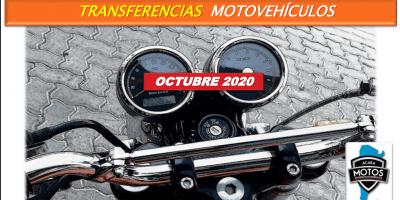 Se transfirieron en Octubre 34.435 motovehículos 9