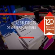 """La Biblioteca Municipal Dr Joaquín Menéndez presenta""""Las bibliotecas de los pergaminenses"""" 2"""