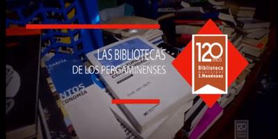 """La Biblioteca Municipal Dr Joaquín Menéndez presenta""""Las bibliotecas de los pergaminenses"""" 6"""