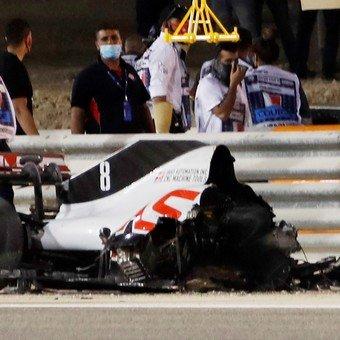 Impactante accidente en la F1 1