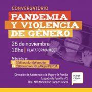 Hoy se llevará a cabo el Conversatorio: Pandemia y Violencia de Género 11