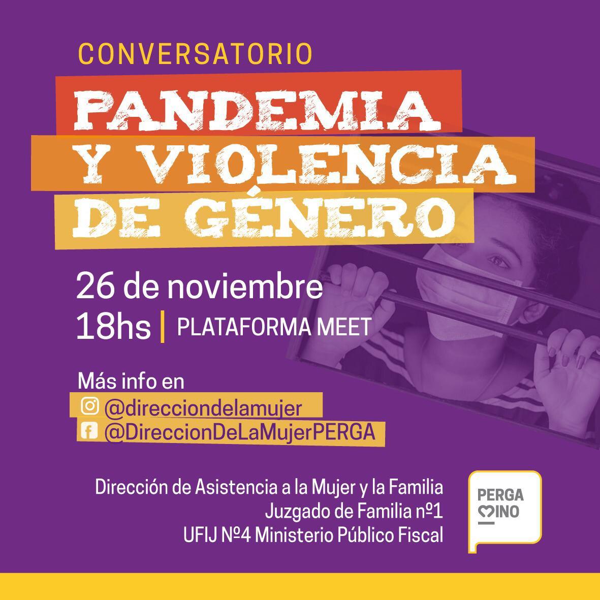 Conversatorio: Pandemia y Violencia de Género 1
