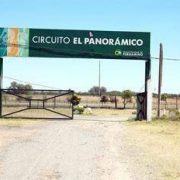 Robaron paños de rejas del Circuito El Panorámico 14