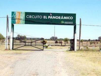 Robaron paños de rejas del Circuito El Panorámico 9