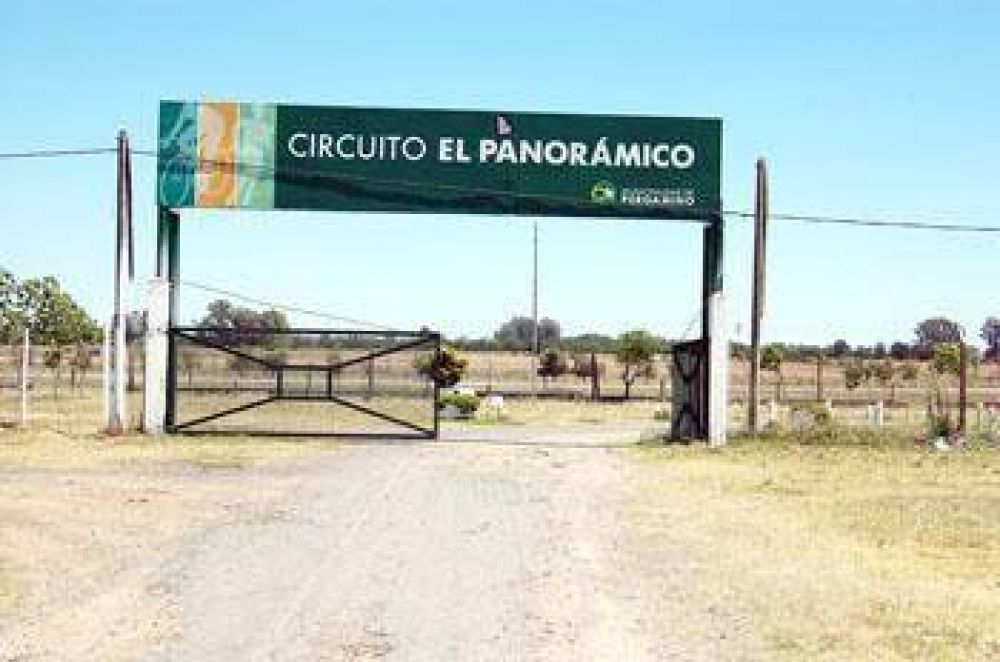 Robaron paños de rejas del Circuito El Panorámico 1