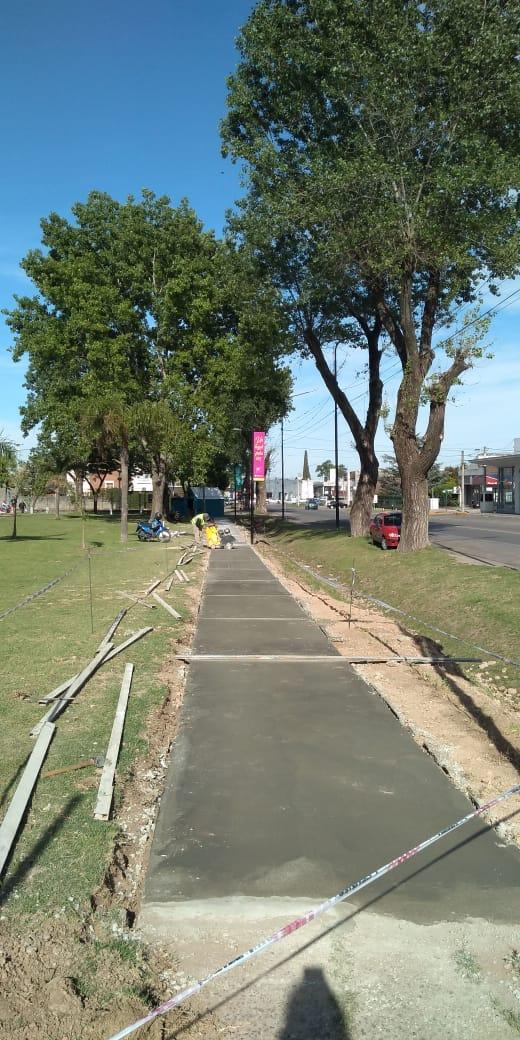 Intenso trabajo en los barrios y espacios verdes de la ciudad 3