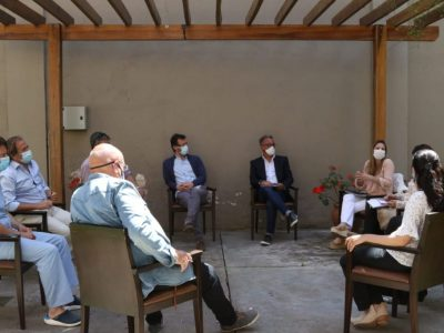 Coronavirus: Nueva reunión de trabajo de autoridades sanitarias de la ciudad 4