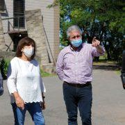 Javier Martínez y Susana Lázzari visitaron el Taller Protegido 4