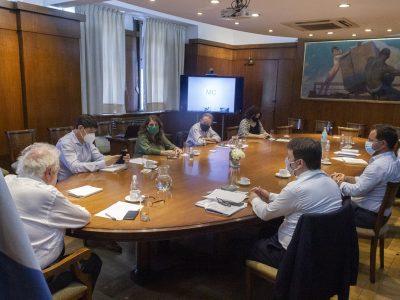 Ministros de Salud de todo el país celebraron el inicio del Plan Nacional de Vacunación 2