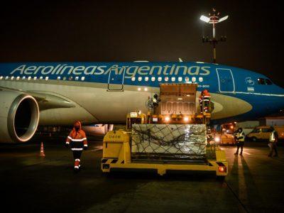 Partió el vuelo de Aerolíneas Argentinas en busca de vacunas Sputnik V 4