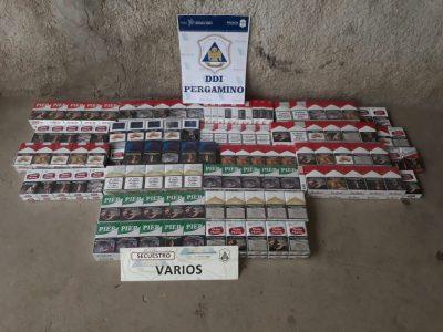Importante allanamiento termino con el secuestro de más de 200 atados de cigarrillos 7