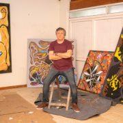 El artista Pergaminense Pablo Rodríguez participará de un certamen internacional con su obra 3