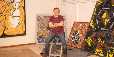 El artista Pergaminense Pablo Rodríguez participará de un certamen internacional con su obra 5