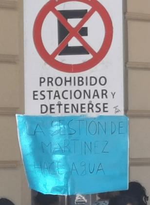 Vecinos reclaman ante el municipio por la falta de agua 1