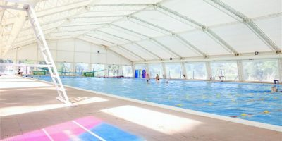 El natatorio municipal pasó de actividades individuales a grupales reducidas 12