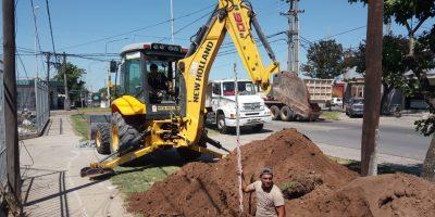 Realizan obras de agua y cloacas en los barrios de Pergamino 5