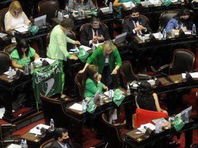 Diputados dio media sanción a la legalización del aborto 4